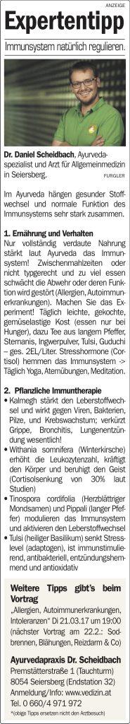 Immunsystem, Allergien, Intoleranz (Histamin, Gluten, Fructose, Lactose)