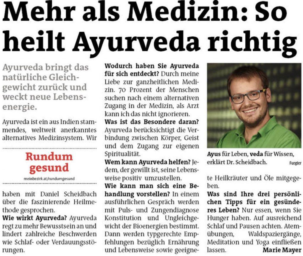 Ayurveda ist mehr als Medizin